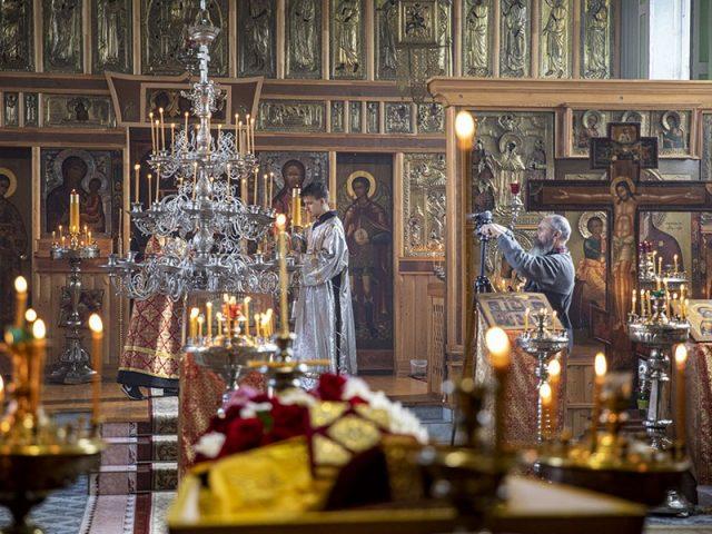 В храме Орехово-Зуева простились с настоятелем