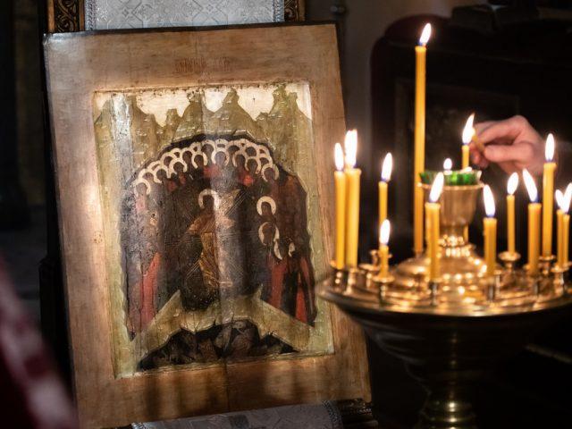 Престольный праздник храма-колокольни на Рогожском
