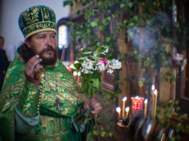 Праздник Святой Троицы в Остоженском приходе