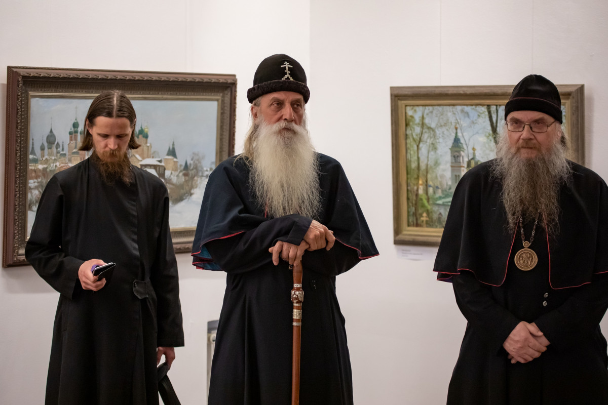 """""""Заповедная Русь"""" на полотнах художников"""