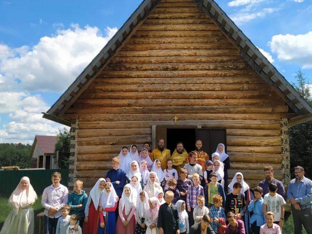 Освящение часовни во Ржевской обители