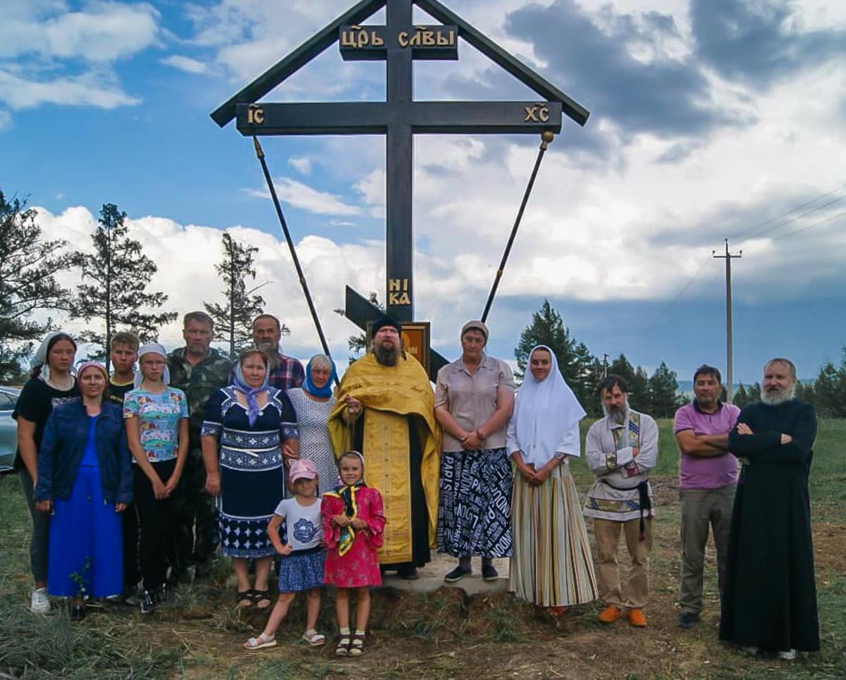 Поклонный крест в память священномученика Аввакума установили возле Читы