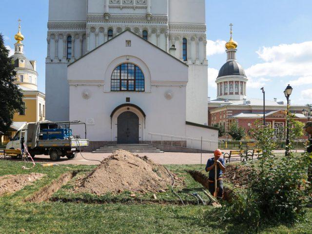 На Рогожском приступили к установке монумента протопопу Аввакуму