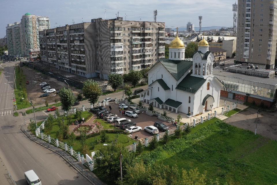 В Красноярске освящен храм Владимирской иконы Богородицы