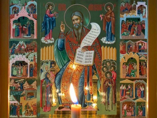 Столичный храм украсился житийной иконой священномученика Аввакума