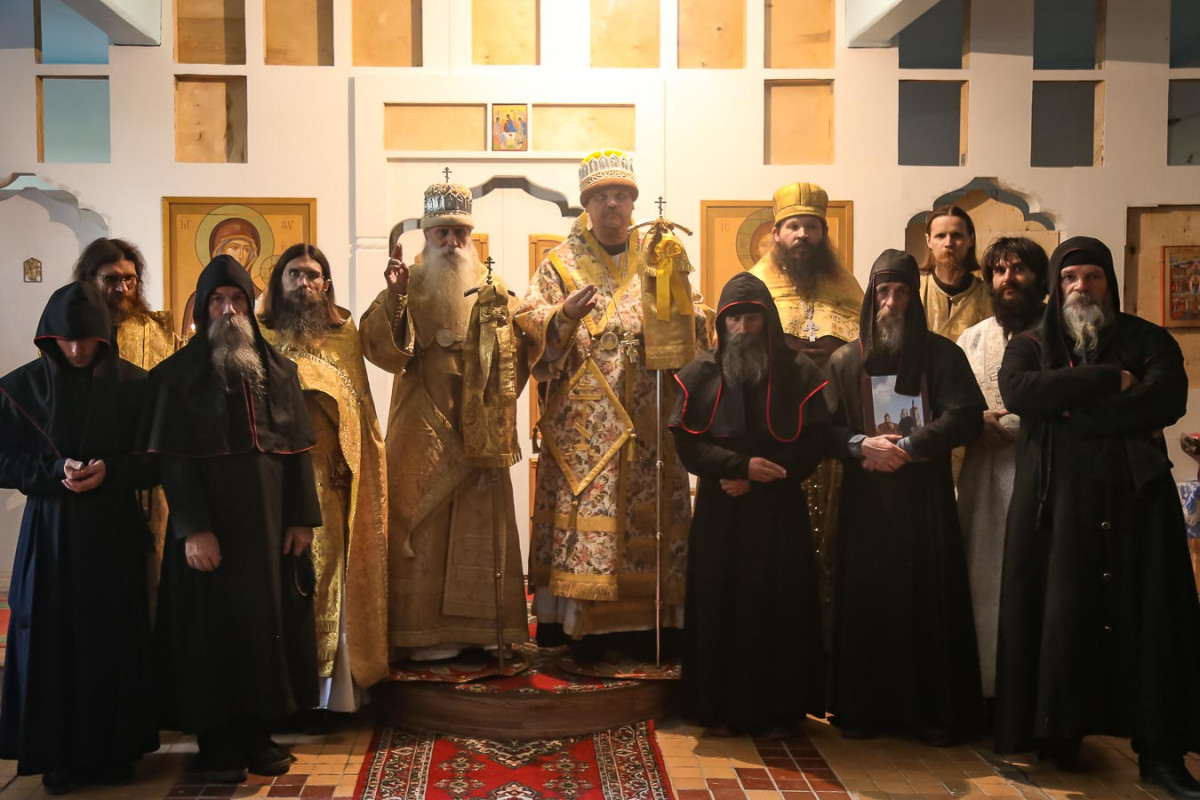 Освящен храм мужского монастыря на Черемшанах