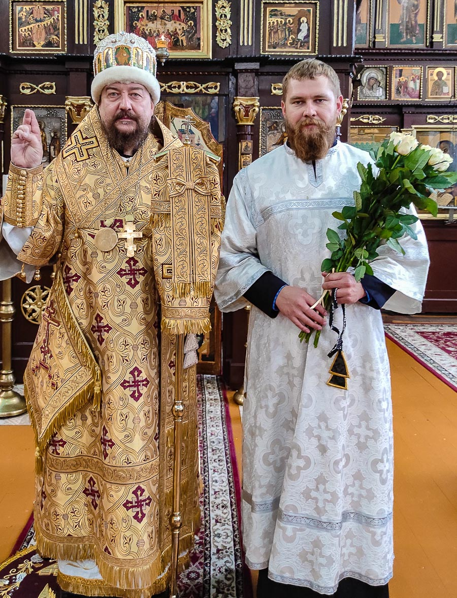 В столице Украины отметили престольный праздник храма Успения Богородицы