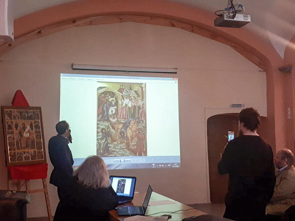 Новая икона священномученика Аввакума в Никольском храме у Тверской заставы Москвы