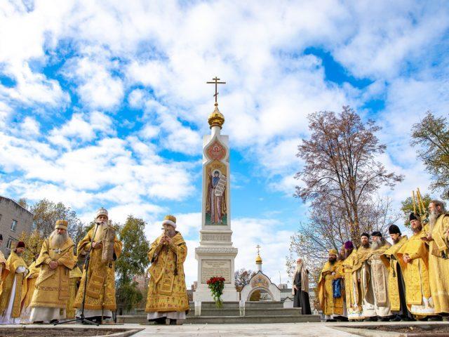 На Рогожском открыли памятный знак свщмч. Аввакуму