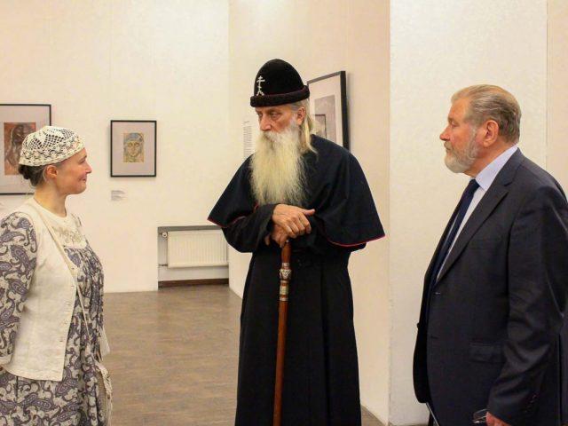Митрополит в Галерее искусств Зураба Церетели
