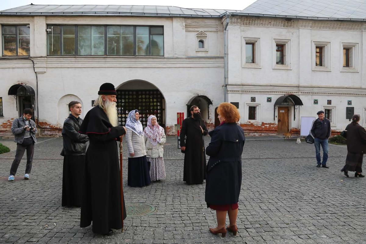 Выставка старообрядческого лубка в музее им. Андрея Рублева
