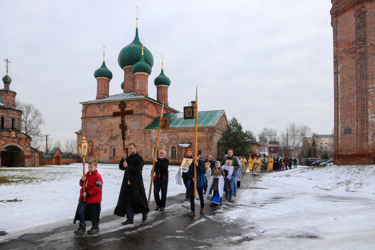 Архиерейская литургия в Ярославле