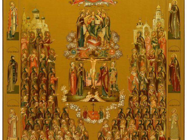 Для рогожских храмов написана икона «Собор старообрядческих святых»