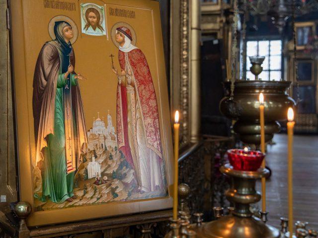 Новая икона в Покровском соборе