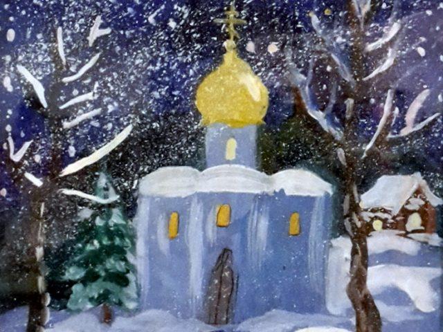 Начался прием работ на конкурс детского рисунка «Краски нашей веры»