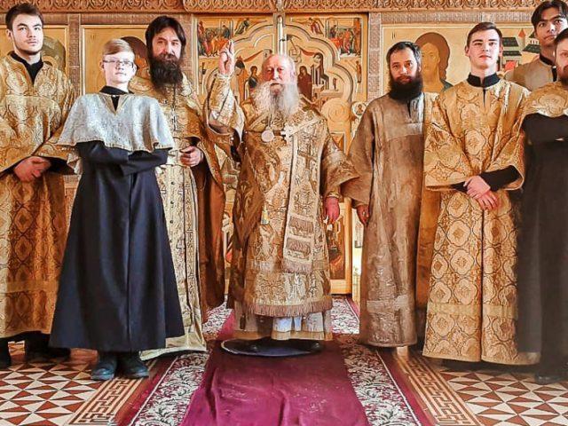 Диаконская хиротония в Донской и Кавказской епархии