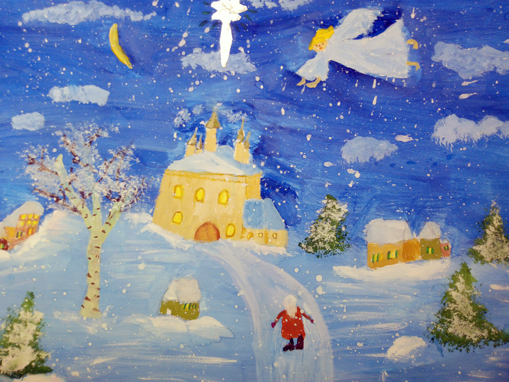 Идет прием работ на выставку детских рисунков «Краски нашей веры»