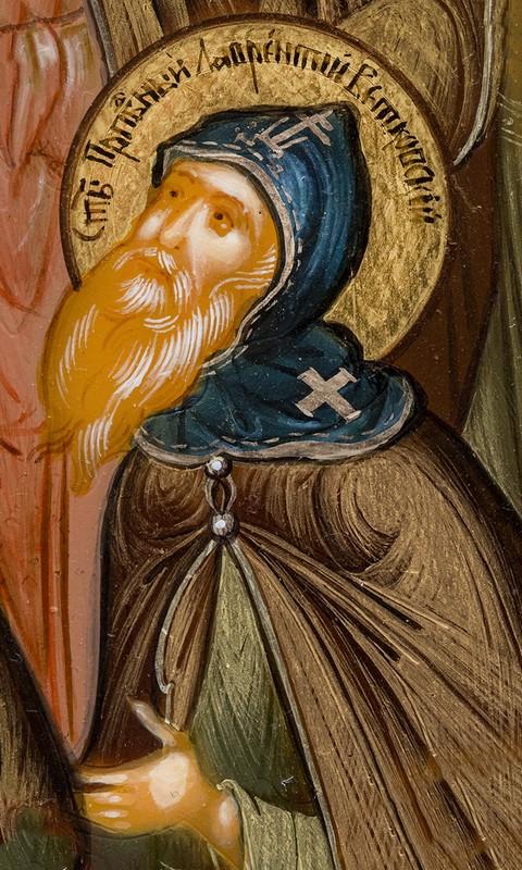 Создатель монастыря в Стародубье: преподобный Лаврентий Ветковский