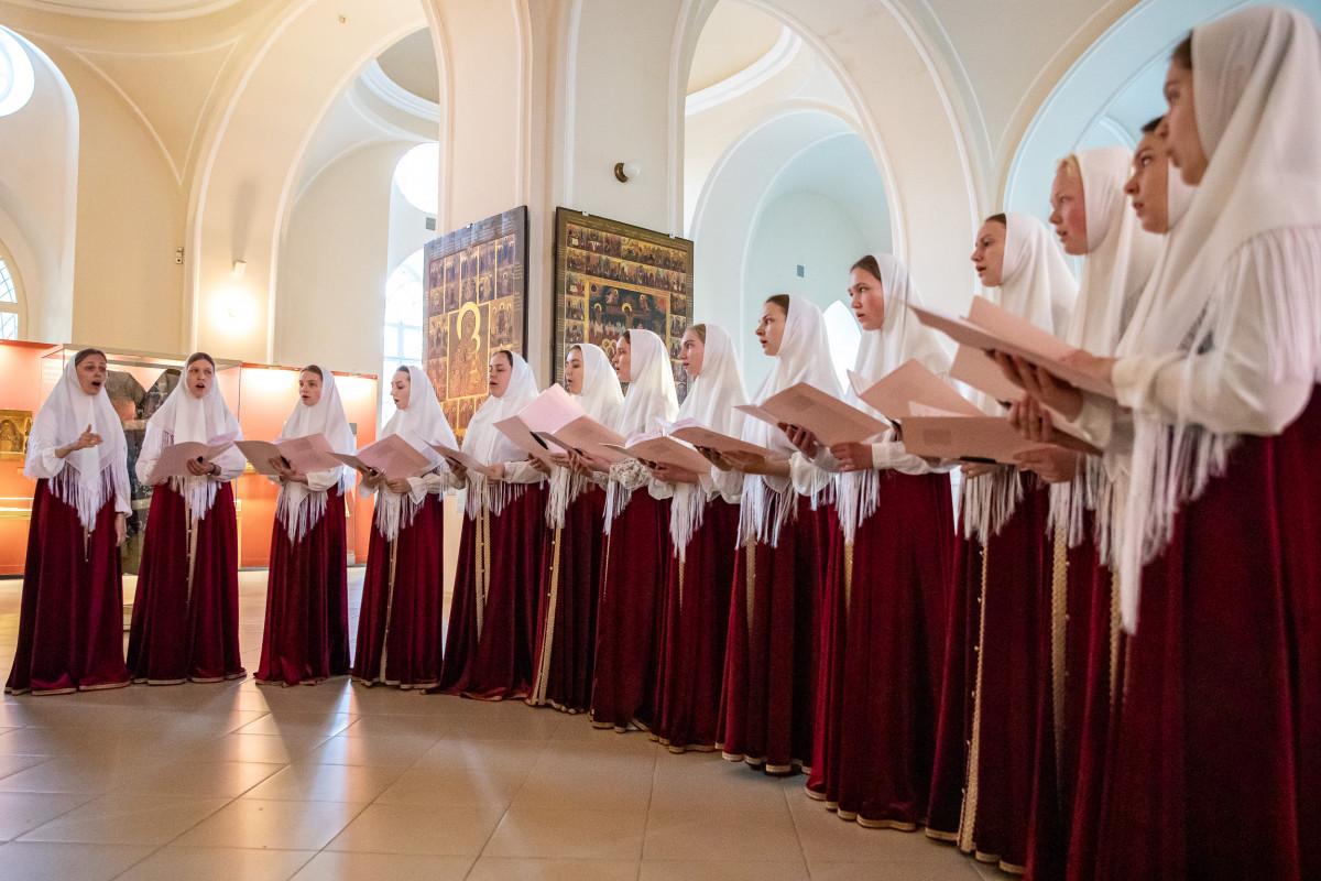 Вечер духовных песнопений на Рогожском