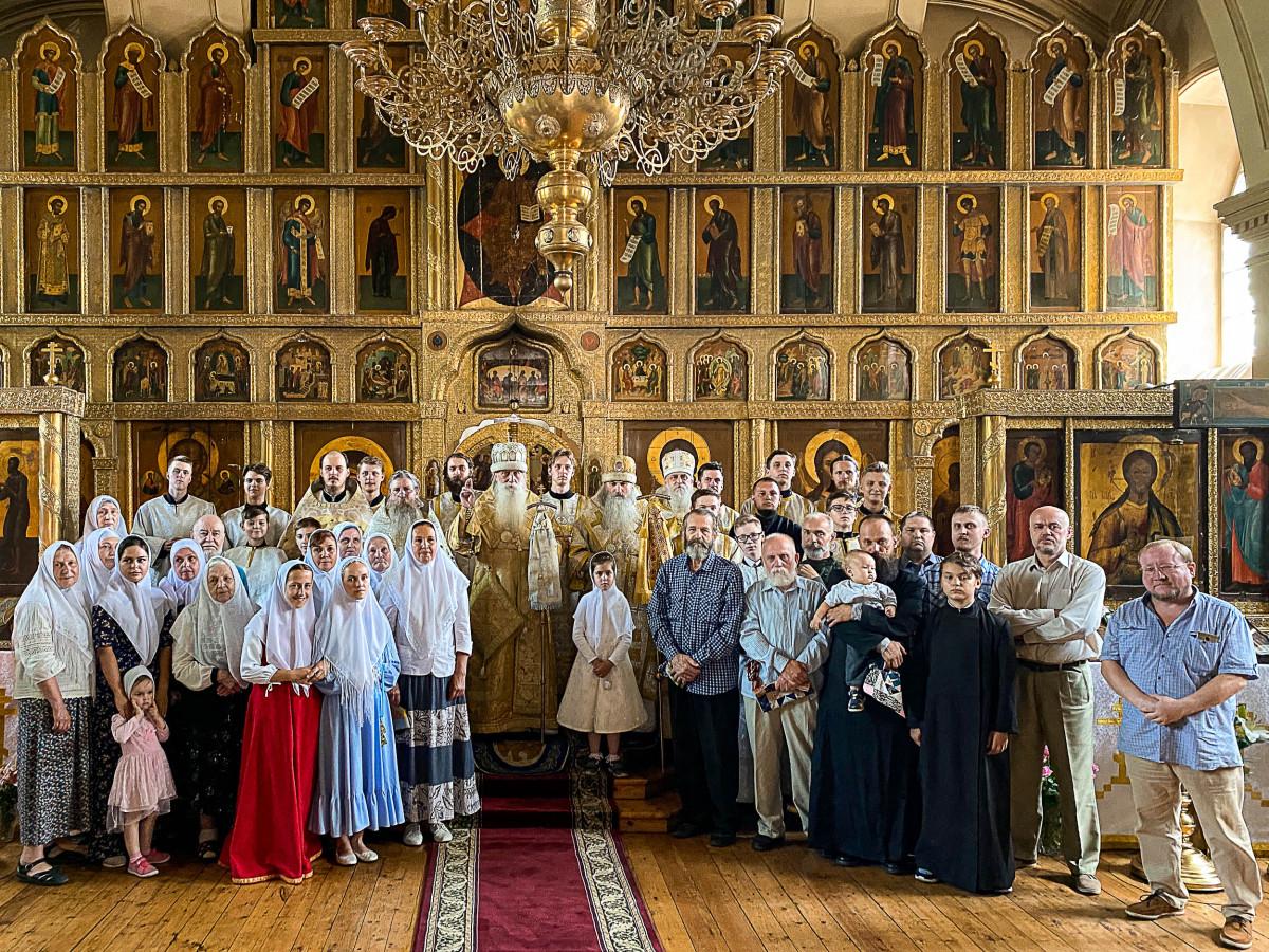 Визит митрополита Корнилия в Казань