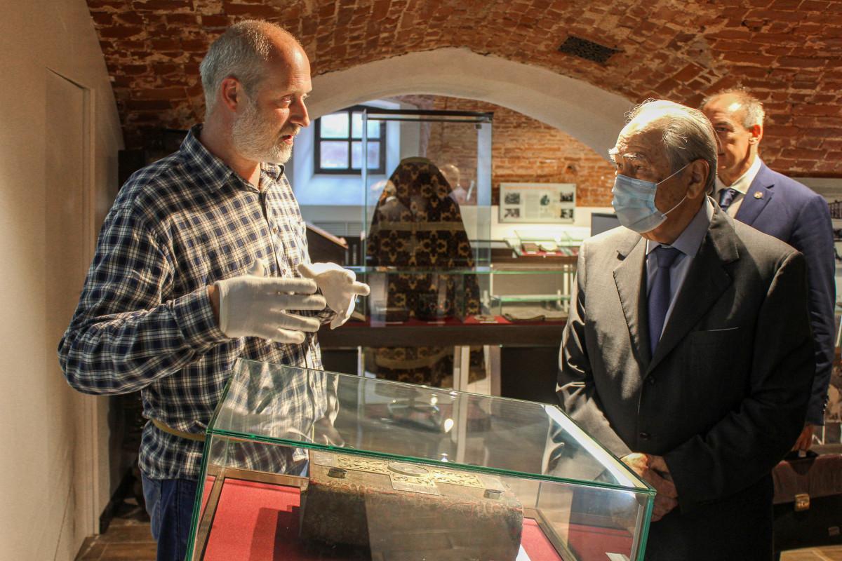 Посещение музея и важная встреча в Казани