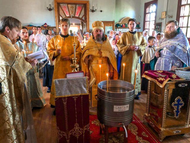 Престольный праздник в Шамарах