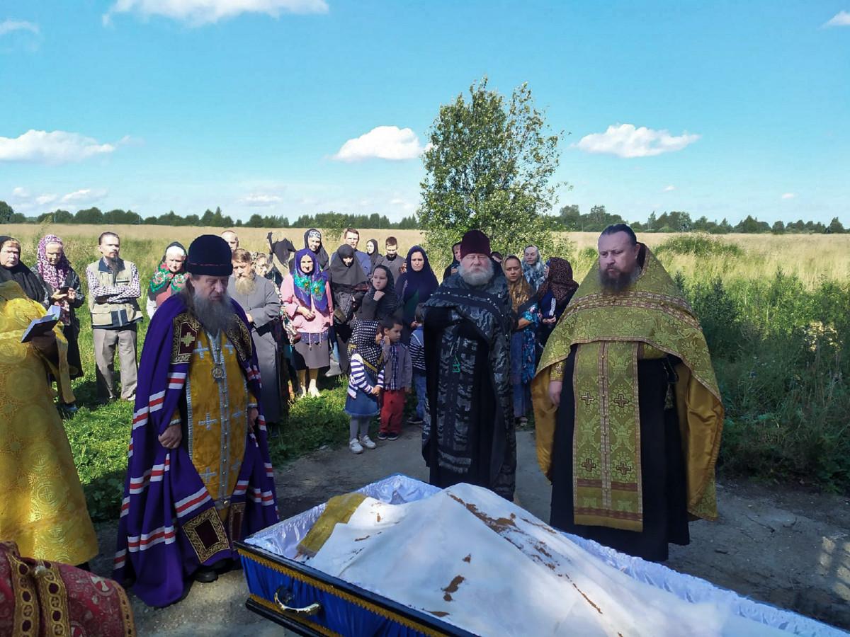 Ярославско-Костромская епархия простилась с о. Анатолием Носочковым